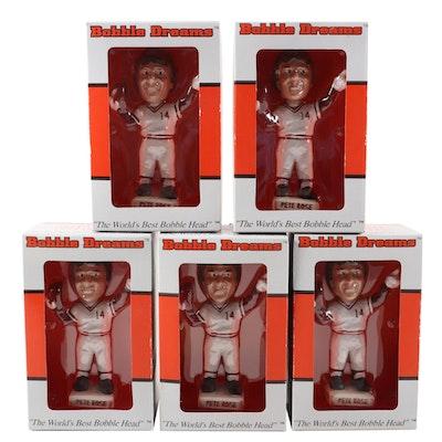 "Bobble Dreams Pete Rose Cincinnati Reds ""Farewell Riverfront"" Bobblehead Dolls"