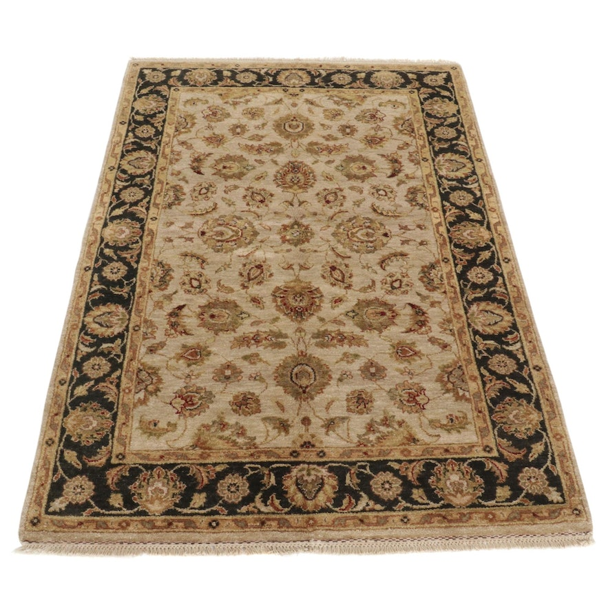 5'5 x 8'9 Hand-Knotted Indo-Persian Tabriz Area Rug, 2000s