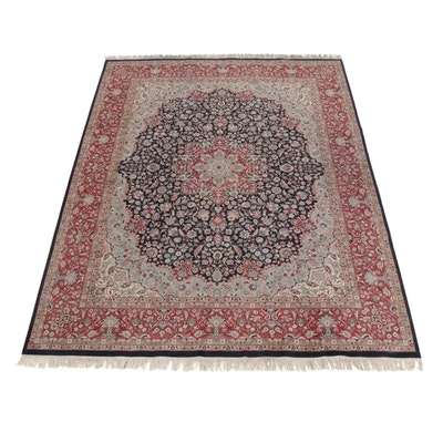 8' x 10'10 Hand-Knotted Pakistani Persian Tabriz Room Sized Rug, 2000s