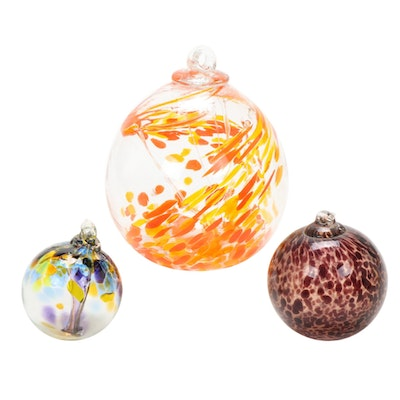 Hand-Blown Glass Balls