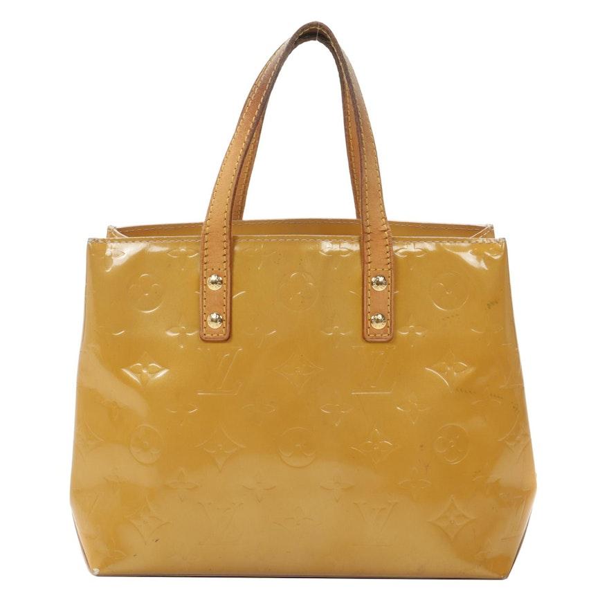 Louis Vuitton Reade PM in Monogram Vernis Leather