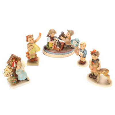 "Goebel ""Good News"", ""Friends"" and Other Hummel Figurines"