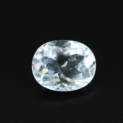 Loose 7.90 CT Aquamarine