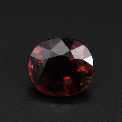 Loose 8.94 CT Rubellite Tourmaline