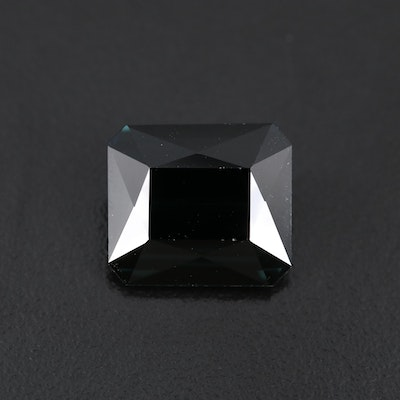 Loose 10.18 CT Indicolite Tourmaline