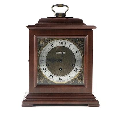 Seth Thomas Legacy 3W Mahogany Carriage Clock, Mid to Late 20th Century