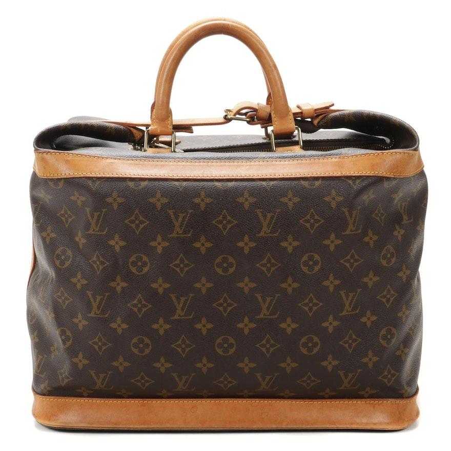 Louis Vuitton Cruiser 40 in Monogram Canvas and Vachetta Leather