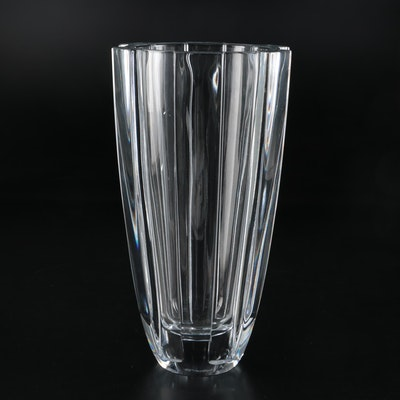 Orrefors Crystal Flower Vase