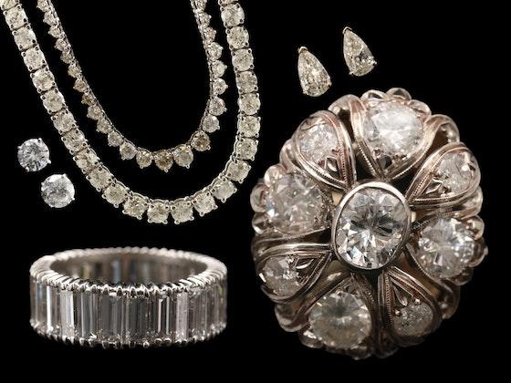 Sparkling Ice; Exceptional Diamond Jewelry & Timepieces