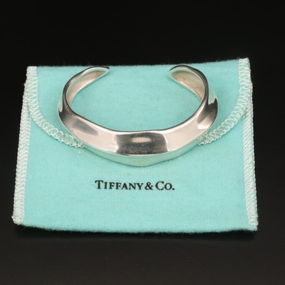 Vintage Tiffany & Co. Sterling Cuff with Pouch