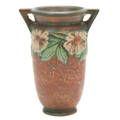 "Roseville Pottery ""Dahlrose"" Vase, 1924"