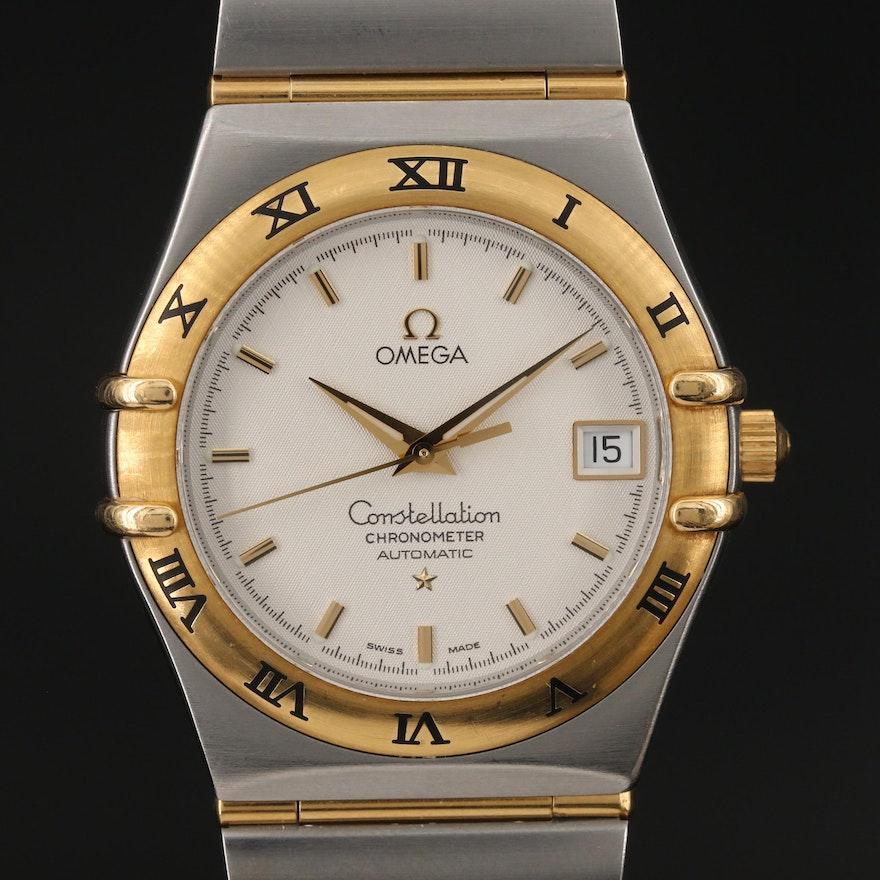Omega Constellation Automatic Chronometer Wristwatch