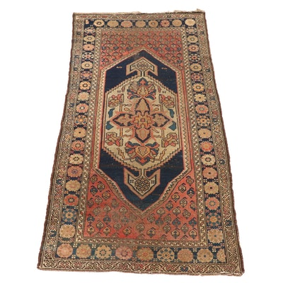 3'3 x 6'9 Handwoven Persian Kolyai Wool Area Rug