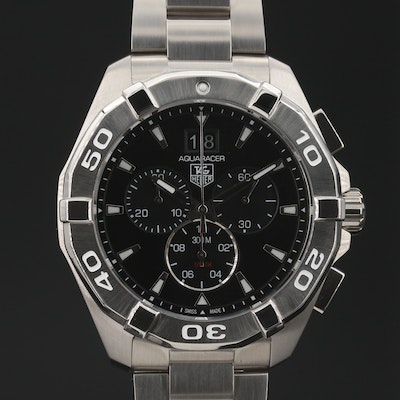 TAG Heuer Aquaracer 300M Chronograph Wristwatch