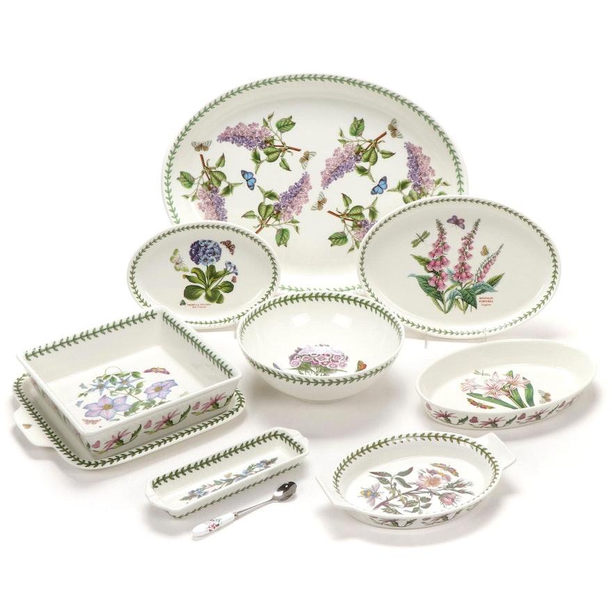 "Portmeirion ""Botanic Garden"" Porcelain Serveware and Bakeware"