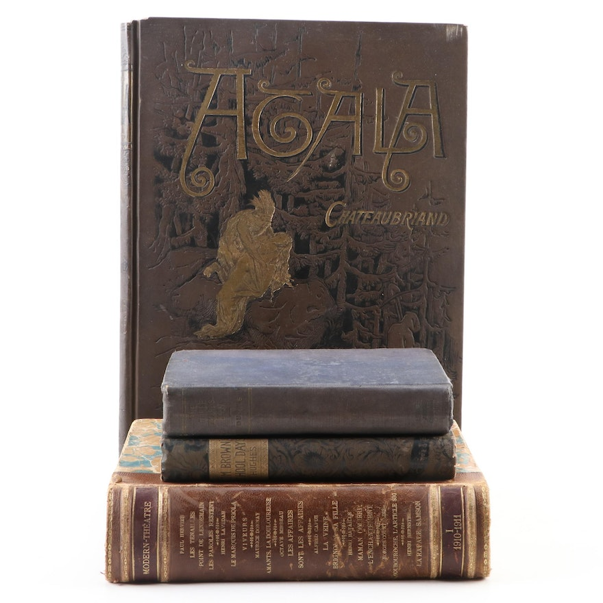 "Gustave Doré Illustrated ""Atala"" by François-René de Chateaubriand and More"