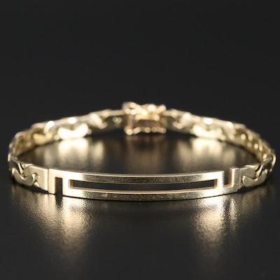 14K C-Link Bracelet