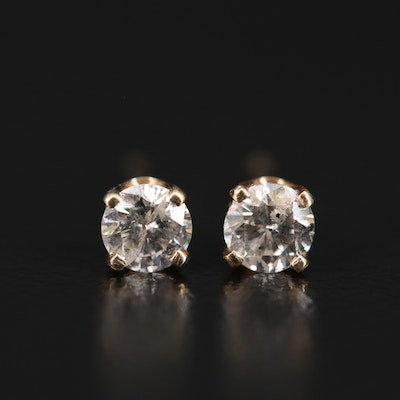 14K 0.30 CTW Diamond Stud Earrings