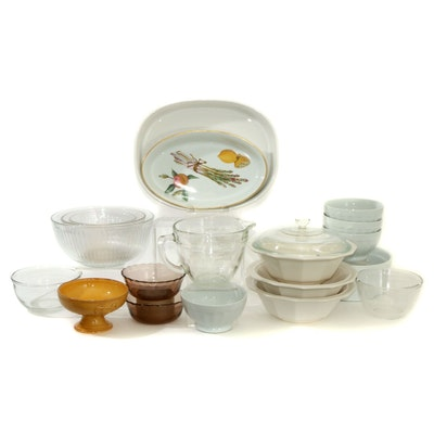 "Royal Worcester ""Evesham,"" Pyrex and Other Ceramic Bakeware"