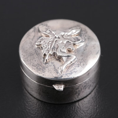 Douglas Pell of London Sterling Silver Tooth Fairy Box