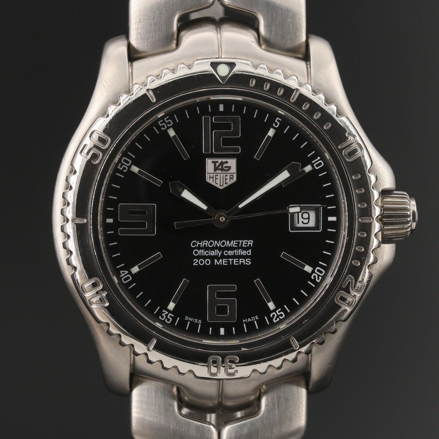TAG Heuer Stainless Steel Chronometer Wristwatch