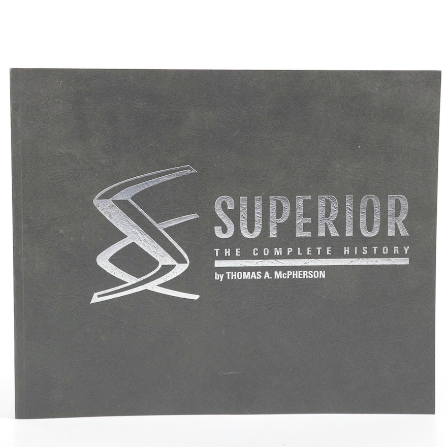 """Signed """"Superior: The Complete History"""" by Thomas McPherson, 1995"""