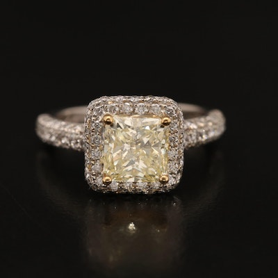 14K 2.58 CTW Diamond Ring