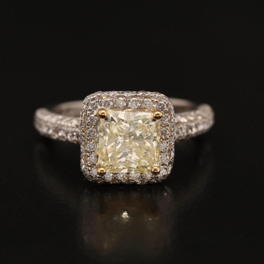 14K 2.58 CTW Diamond Ring