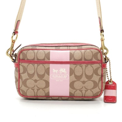 Coach Camera Bag in Signature Coated Canvas