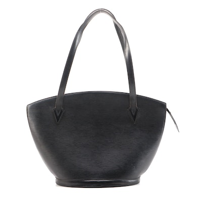 Louis Vuitton Saint Jacques GM Bag in Black Epi Leather