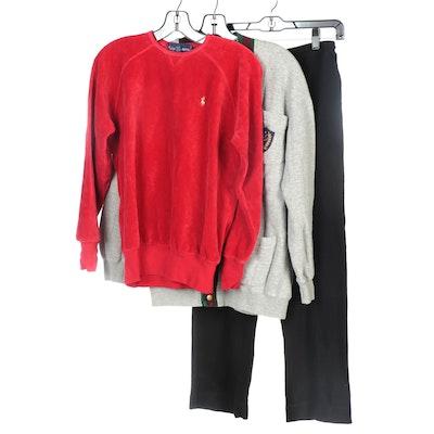 Ralph Lauren and Lauren Ralph Lauren Cotton Activewear Separates