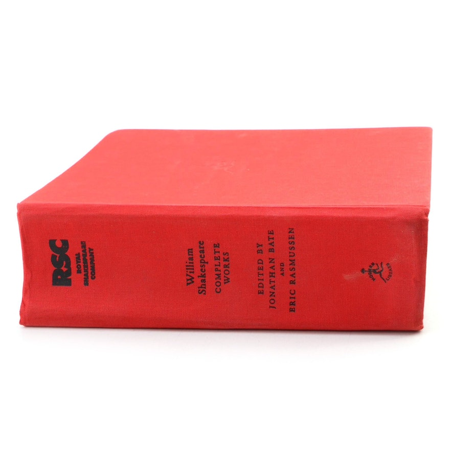 """First Edition RSC Shakespeare """"Complete Works"""" by William Shakespeare, 2007"""