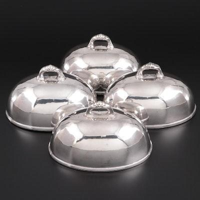 Albert Pick & Company Nickel Silver Serveware Cloche Lids