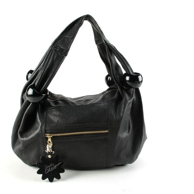 See by Chloé Black Leather Hobo Bag