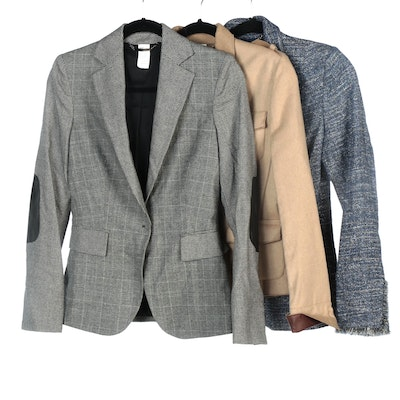 Les Copains Wool Blend and Cotton Blend Jackets