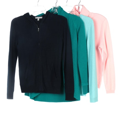 Neiman Marcus, Nordstrom and Charter Club Cashmere Sweaters