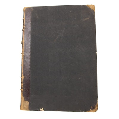"""""""The Turf, Field, and Farm"""" Bound Periodicals, January–June 1875"""