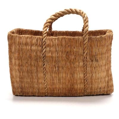 California Handwoven Palm Bag