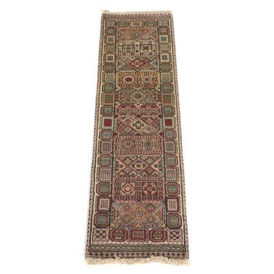 1'6 x 6'2 Hand-Knotted Indo-Persian Carpet Runner