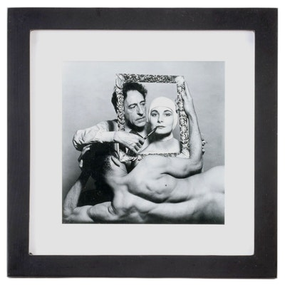 Philippe Halsman Reprinted Silver Gelatin Photograph from Magnum Photos