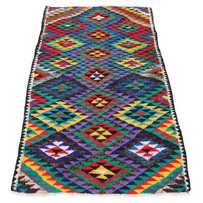 5'3 x 9'2 Handwoven Persian Kilim Area Rug