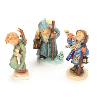 "Goebel ""Hear Ye, Hear Ye"" and Other Porcelain Hummel Figurines, Mid-20th C."