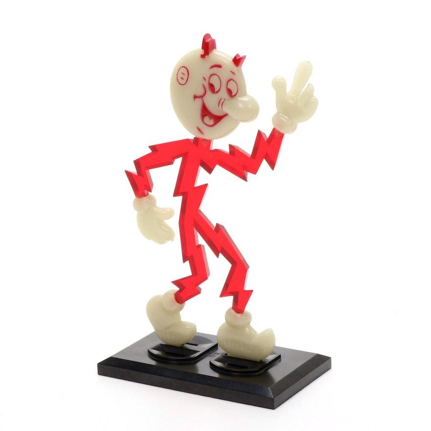 Reddy Kilowatt Plastic Figurine, 1961