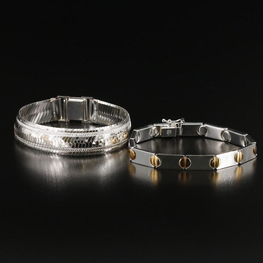 Milor Sterling Silver Bracelets