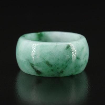 Jadeite Hololith Ring