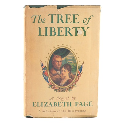 "Signed Limited First Edition ""The Tree of Liberty"" by Elizabeth Page, 1939"