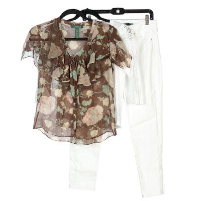 Lauren Ralph Lauren and Lauren Jeans Co. Jeans and Shirts