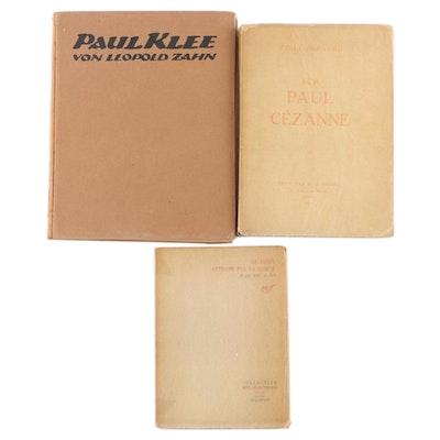 """Limited Edition """"Souvenirs sur Paul Cézanne"""" by Émile Bernard and More"""
