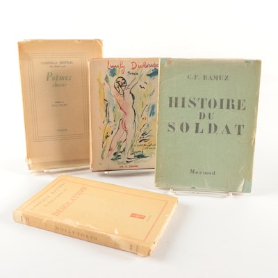 Limited Edition Gabriela Mistral and More Poetry Books