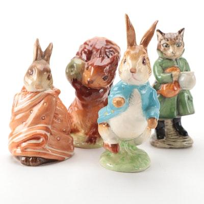 F. Warne & Co. Beatrix Potter Character Figurines